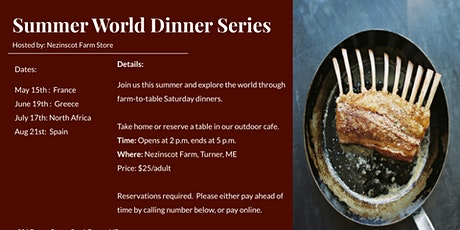 Summer Farm-to-Table Dinner Series tickets