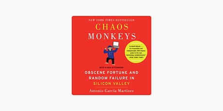 Book Review & Discussion : Chaos Monkeys tickets