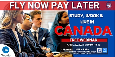 FLY NOW PAY LATER WITH NIAGARA COLLEGE TORONTO: PATHWAY TO RNIP tickets