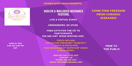 Community Health & Wellness Resource Festival tickets