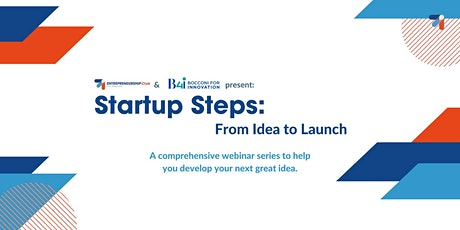 Startup Steps: from Idea to Launch biljetter