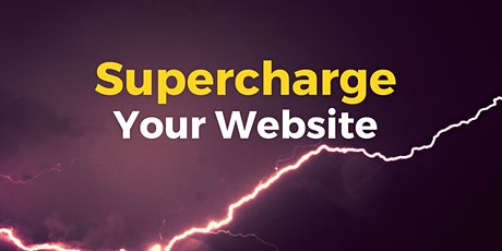 Supercharge Your Website tickets