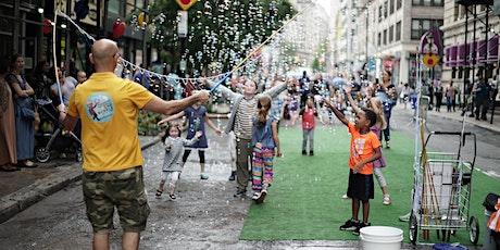 BKLYN Outdoor & Indoor Block Party with free kids activities tickets