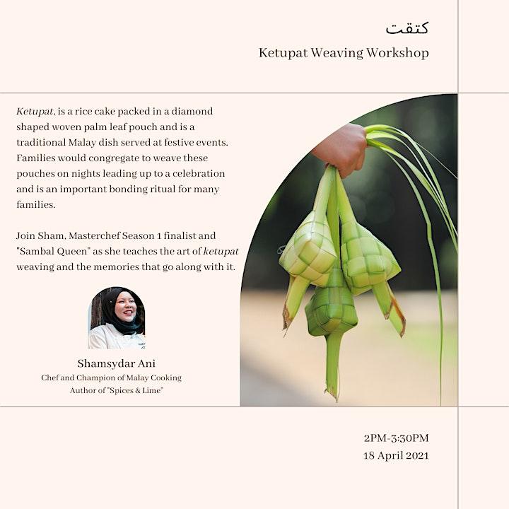 Ketupat Weaving Workshop image