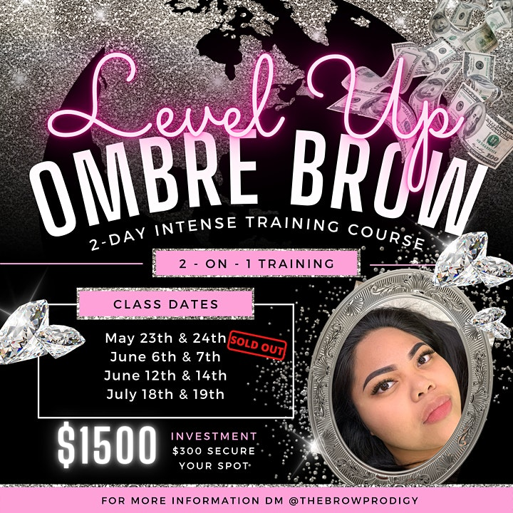2-Day Ombré Powder Brow INTENSE training | THE BROW PRODIGY image