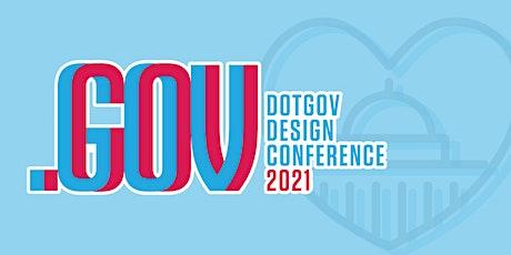 2021 DotGov Design Conference tickets