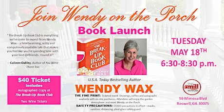 USA Today Bestselling Author WENDY WAX Launches Her New Book tickets