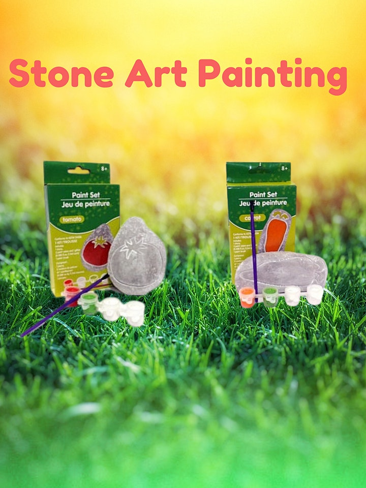 Stone Art Painting Kit (Preschool / Elementary School) image