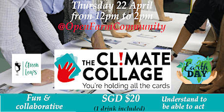 Earth day Climate collage (over lunch session) tickets