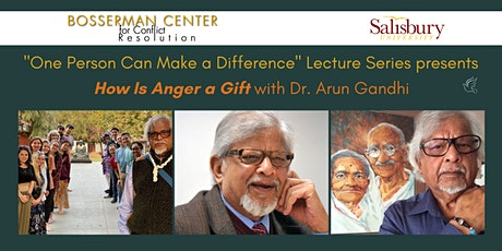 How is Anger a Gift: One Person Can Make a Difference Lecture Series tickets