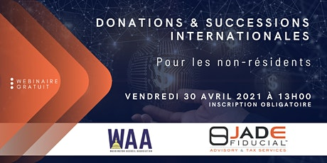 Donations & Successions Internationales tickets