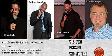 """Comedy Night @ """"The Station"""" tickets"""