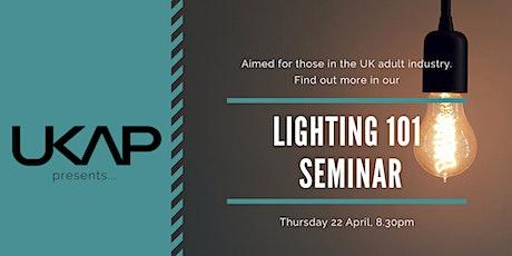 Lighting 101 Seminar tickets
