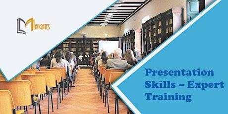 Presentation Skills - Expert 1 Day Virtual Live Training in Jersey City, NJ tickets