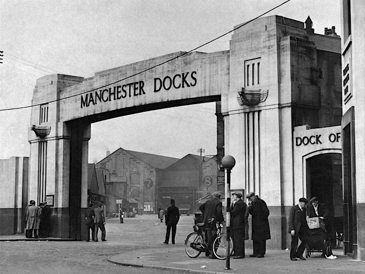 Explore the Manchester Docks & Salford Quays. Walking tour  with Ed Glinert image