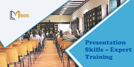 Presentation Skills - Expert 1 Day Virtual Live Training in New Jersey, NJ tickets