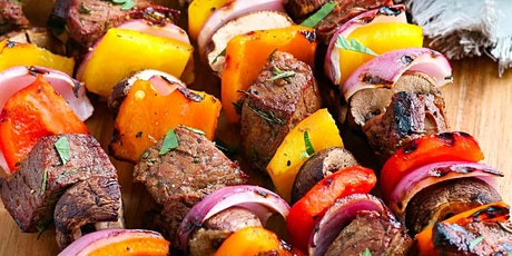 TAKEOUT DINNER - GRILLED BEEF & CHICKEN KABOBS!!! tickets