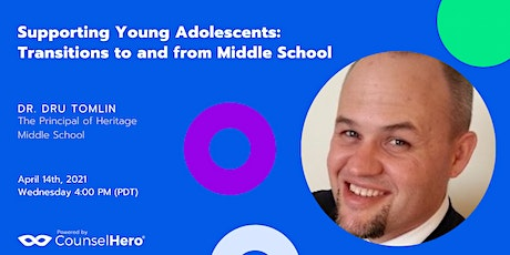 Supporting Young Adolescents: Transitions to and from Middle School tickets