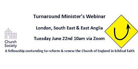 Church Society 'Turnaround' Minister's Webinar tickets