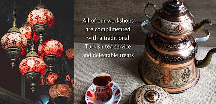 Turkish Mosaic Lamp Making Workshop Melbourne image