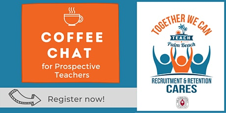 Coffee Chat for Prospective Teachers (Info Session) ingressos