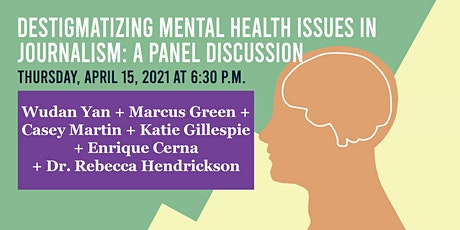 Destigmatizing Mental Health Issues in Journalism: A Panel Discussion tickets