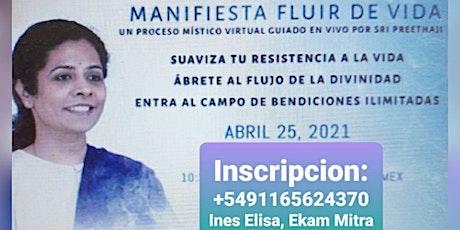 MANIFIESTA: FLUIR EN LA VIDA 25-4 ingressos