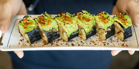 Online Deliciously Plant-based: Hand-rolled Sushi tickets