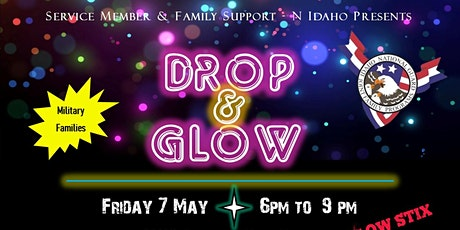 Military Family Kids' Night Out, Parents' Night Off - Drop and Glow Party tickets