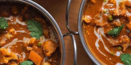 Online Cape Town Date Night: South African Chicken Curry and Tomato Chutney tickets