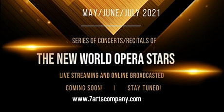 The New World Opera Stars in Virtual Concerts Tickets