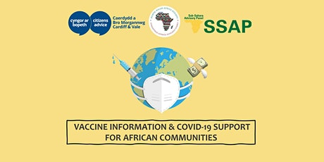 Vaccine Information & Covid-19 Support  For African Communities tickets