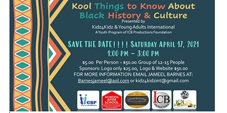 Kool Things to Know Black History and Culture Replay tickets