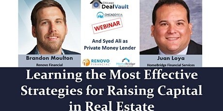 WEB: Learning the Effective Strategies for Raising Capital in Real Estate tickets