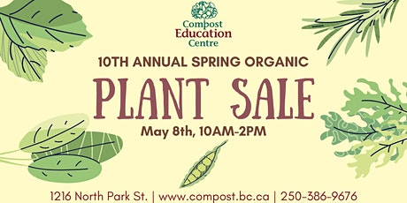 10th Annual Spring Organic Plant Sale tickets