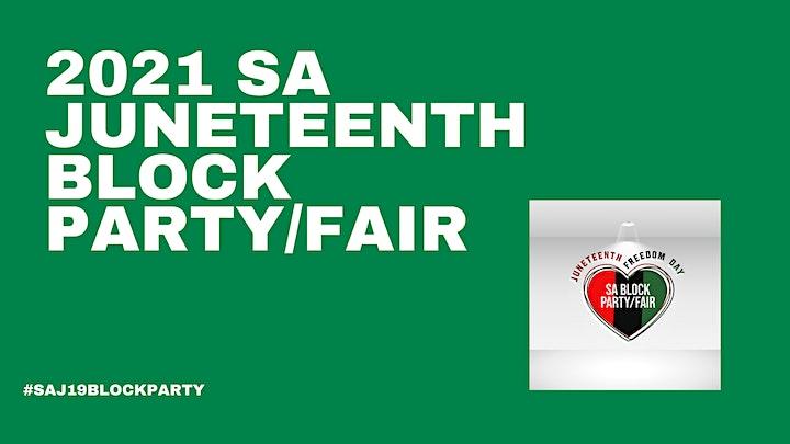 SA Juneteenth Block Party/Fair image