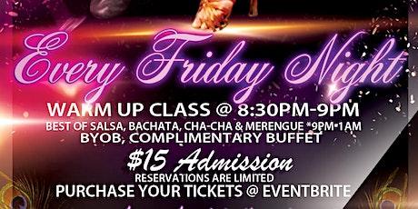 Atrium Dance Studio Friday Latin tickets