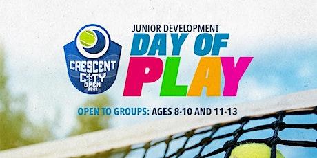 Crescent City Open 2021 - Junior Development Day of Play tickets
