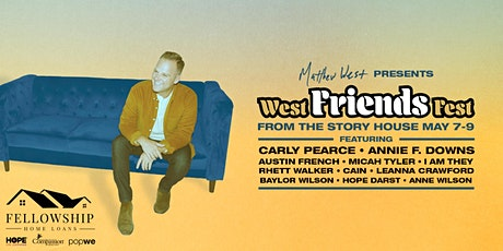 Matthew West presents West Friends Fest | 7pm ET/6pm CT/5pm MT/4pm PT tickets