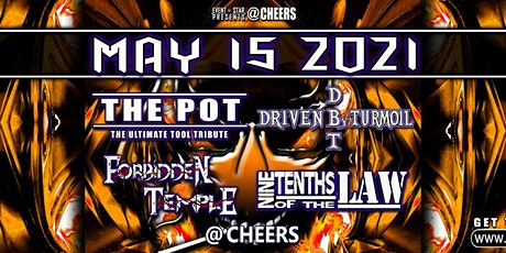 Tool Tribute / Driven by Turmoil / Nine Tenths of The Law /Forbidden Temple tickets