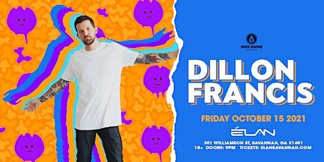 Dillon Francis at Elan Savannah (Fri, Oct 15th) tickets