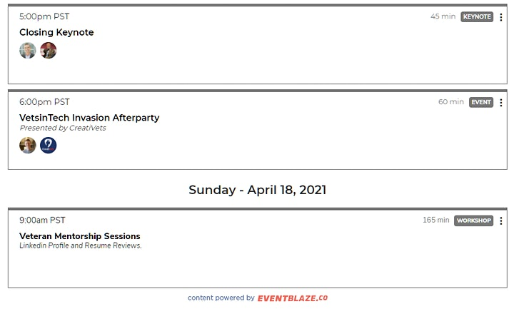 The VetsinTech Invasion  National Conference 2021!! (Virtual) image