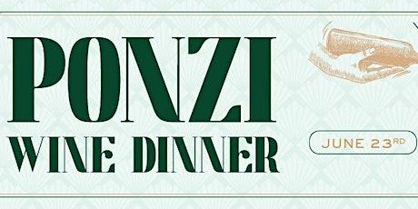 Ponzi Wine Dinner at Heaton's Vero Beach! tickets