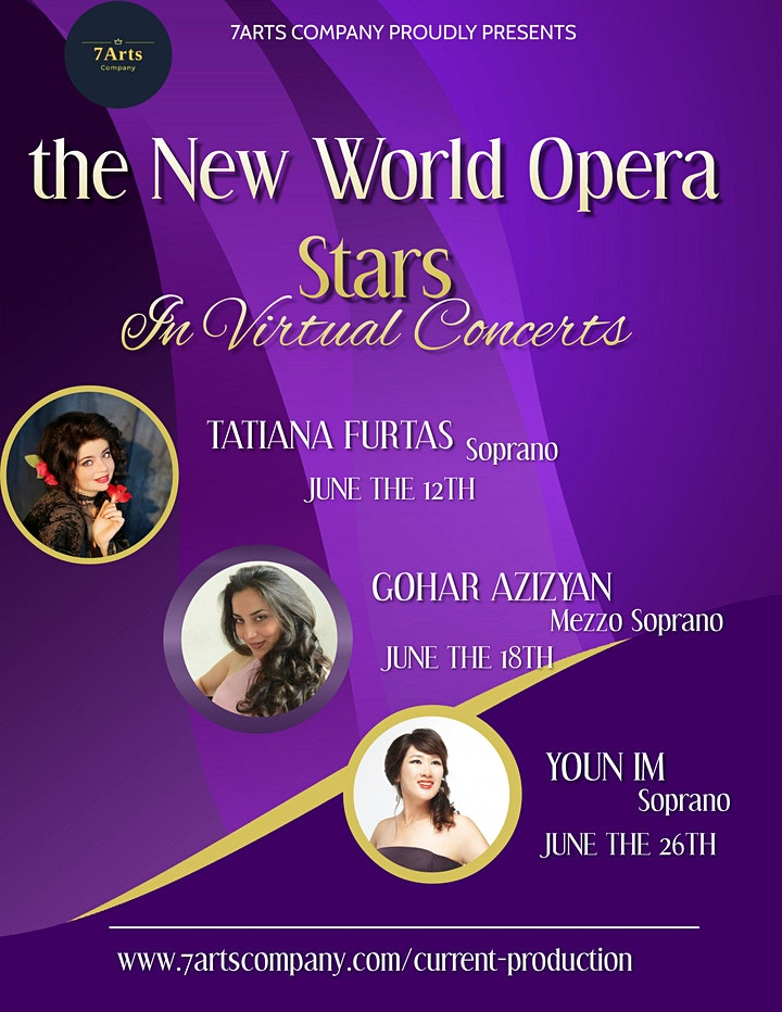 The New World Opera Stars in Virtual Concerts/ Youn Im image