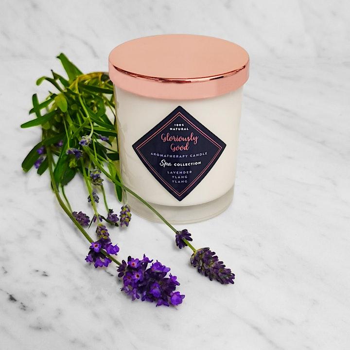 Luxury Aromatherapy Candle Making Masterclass image