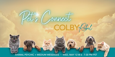 Pets Connect -Animal Psychic & Spirit Messages-ONLINE tickets