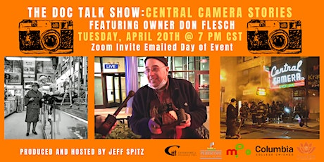 The Doc Talk Show: Central Camera Stories tickets