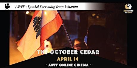 AWFF Online Cinema - The October Cedar tickets