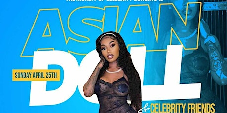 ASIAN DOLL & CELEBRITY FRIENDS LIVE  @ 321 LOUNGE tickets