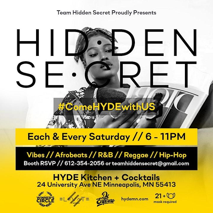 Hidden Secret  @ Hyde Kitchen + Cocktails image